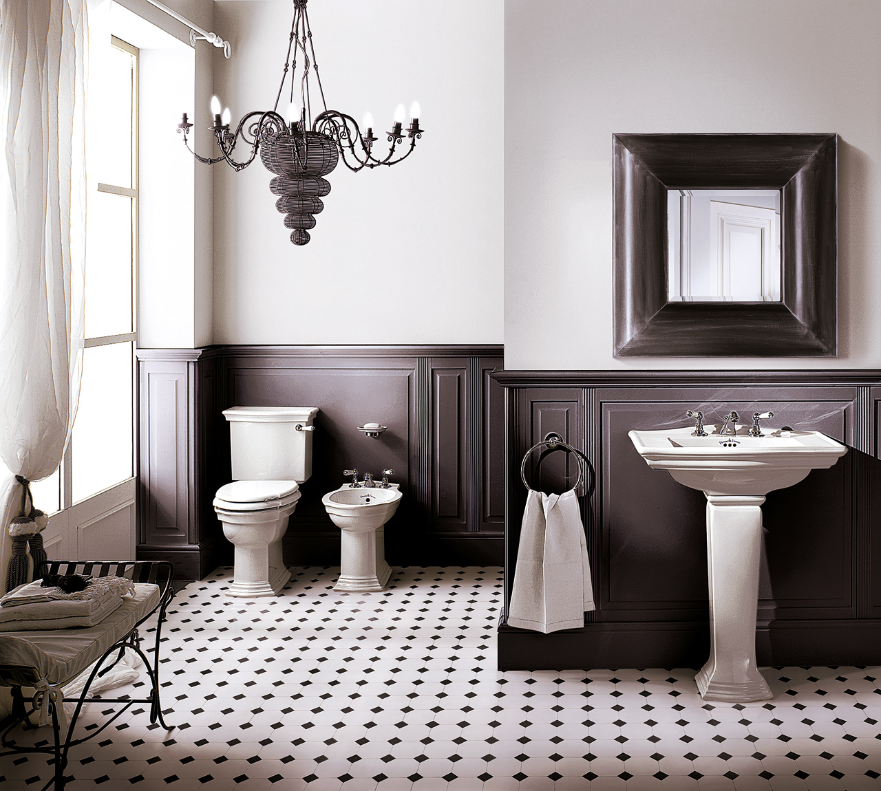 Classic Bathrooms: Devon & Devon: Linea-Westminster
