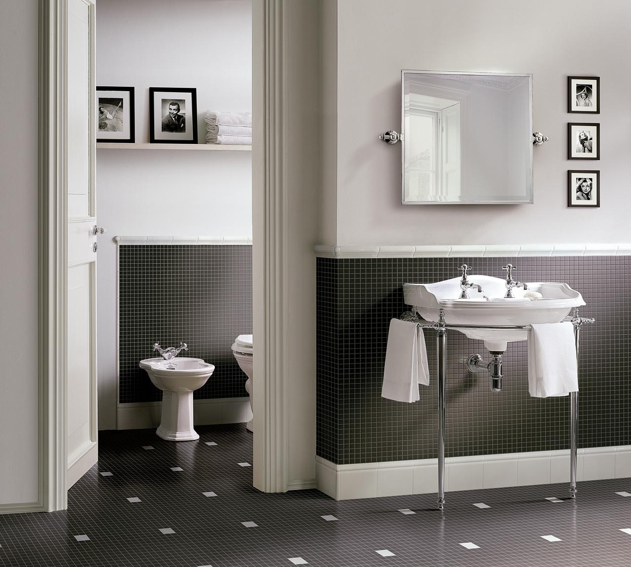 Classic Bathrooms: Devon & Devon: Mosaic
