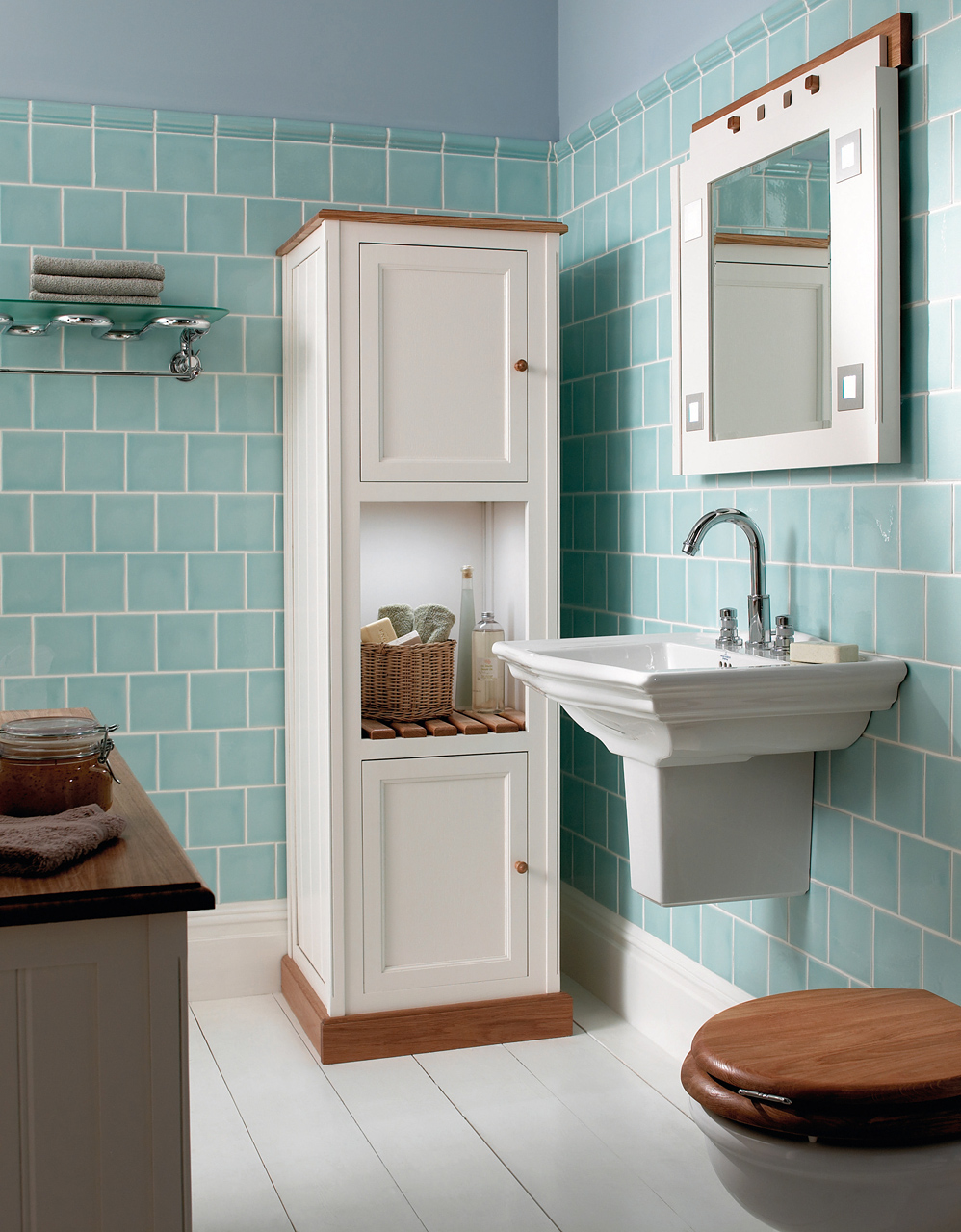 Classic Bathrooms: Imperial Bathrooms - Driftwood-cloakroom