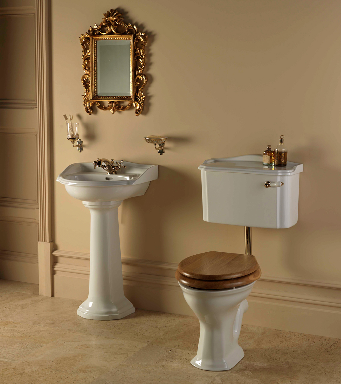 Classic Bathrooms: Imperial Bathrooms - Heyford-Cloakroom