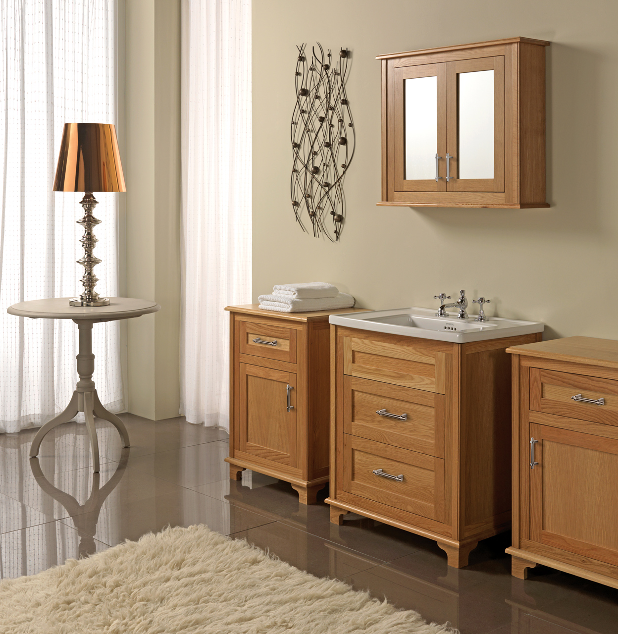 Classic Bathrooms: Imperial Bathrooms - Oak-Set-main