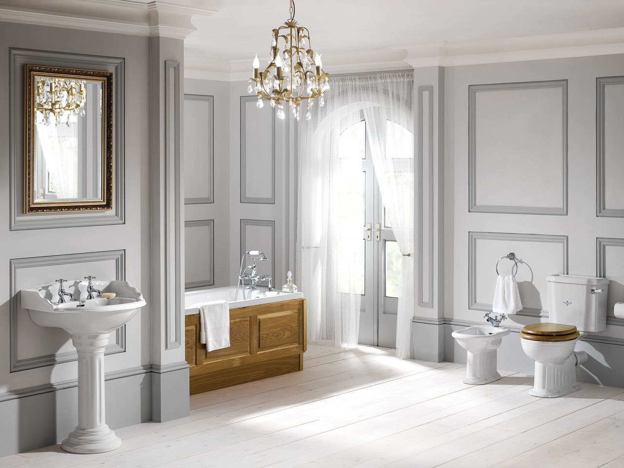Silverdale Bathrooms: Belgravia Roomset