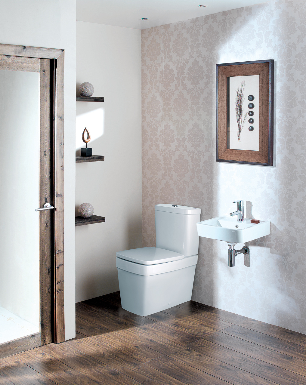 Silverdale Bathrooms: Henley Pan