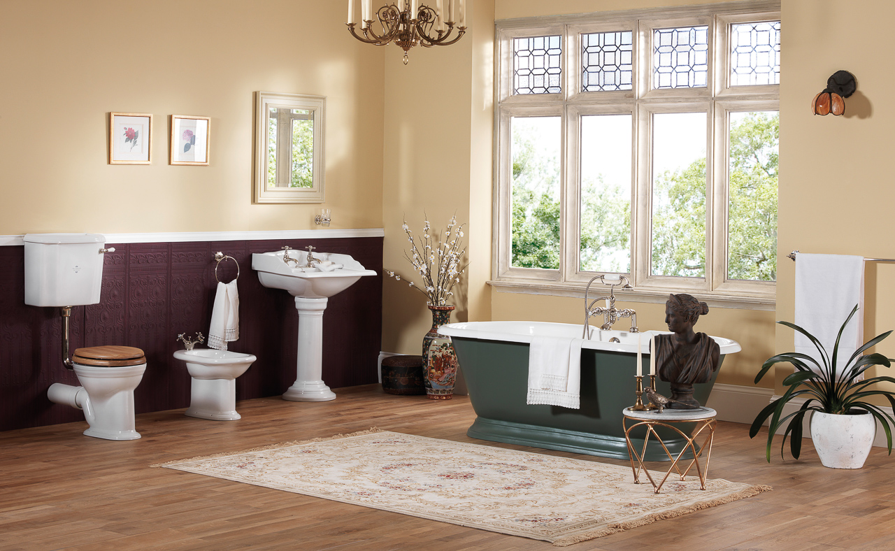 Silverdale Bathrooms: Victorian Main
